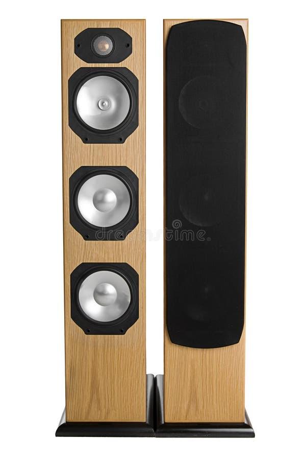 target2017_1_ stereo podłogowi mówcy fotografia stock