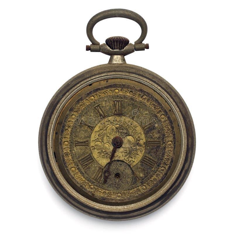 target2064_1_ odosobnionej ścieżki kieszeniowy zegarek zdjęcie royalty free