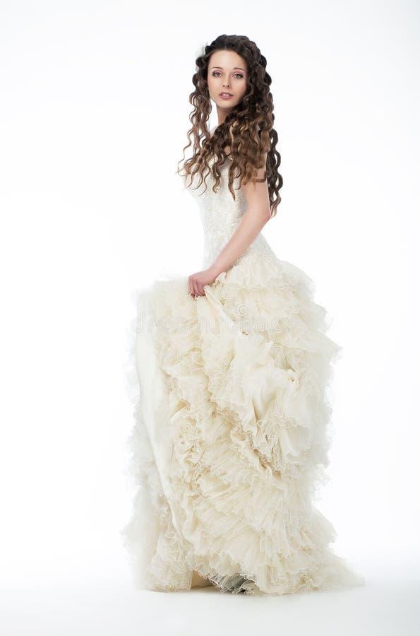 target2128_0_ ładnej białej kobiety biała kobieta suknia obrazy royalty free