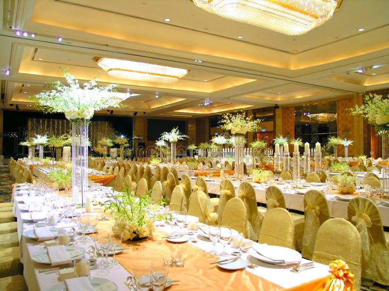 target2142_1_ stołowy ślub zdjęcia stock