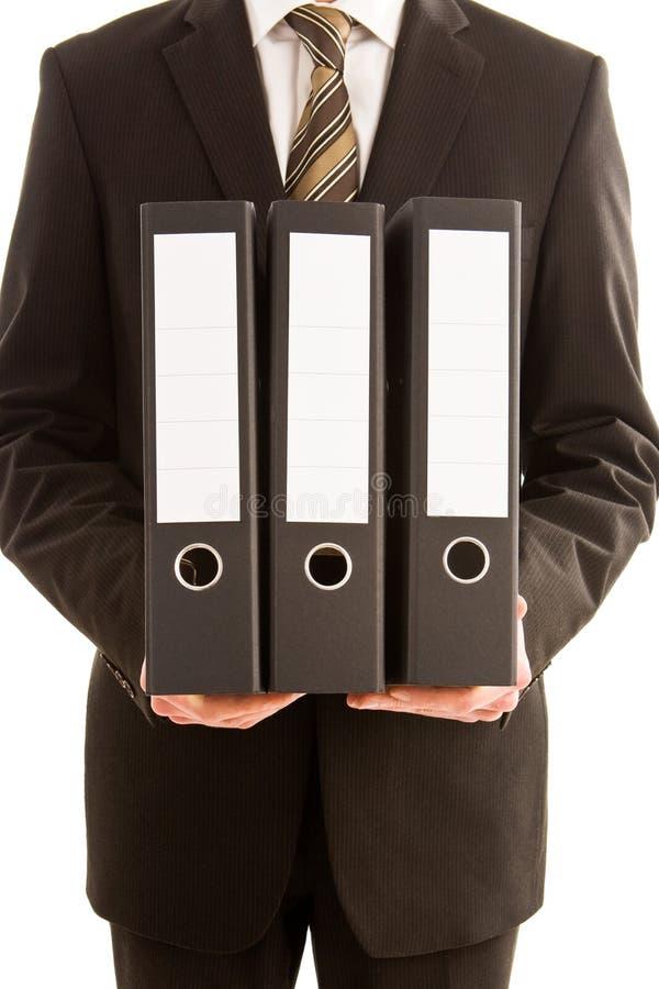 target2292_1_ mężczyzna biznesowe falcówki trzy zdjęcie royalty free