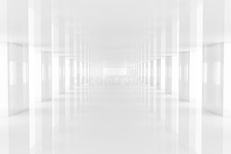 target2360_1_ trzy biel przejście biel royalty ilustracja