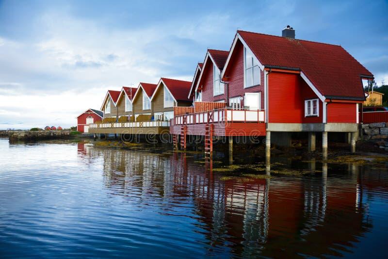 target2374_1_ kabiny fjord zdjęcie royalty free