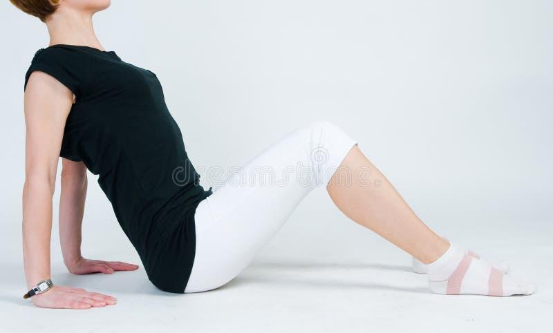 target2403_0_ sprawności fizycznej dziewczyny obraz royalty free