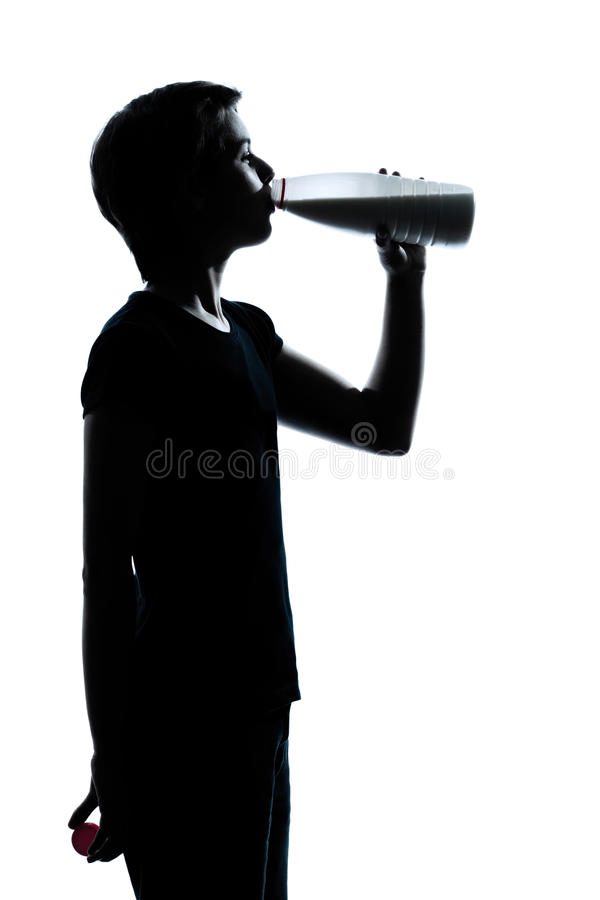 target2530_0_ dziewczyna doi jeden sylwetki nastolatka potomstwa zdjęcia stock
