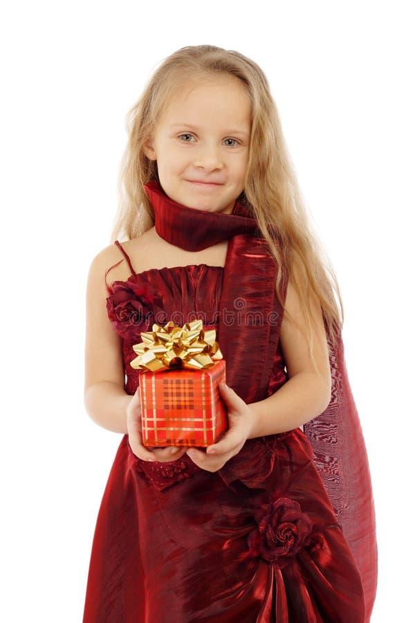 target2539_1_ trochę ja target2541_0_ prezent pudełkowata dziewczyna obrazy royalty free