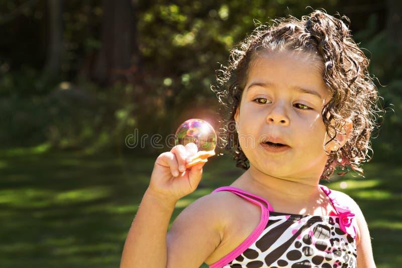TARGET456_1_ słońce w bąblu zdjęcia stock
