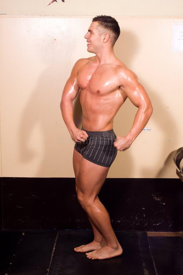 target475_0_ bodybuilder potomstwa obraz stock