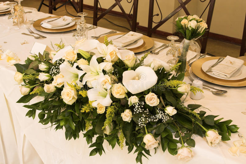 target579_1_ stołowy ślub zdjęcie stock