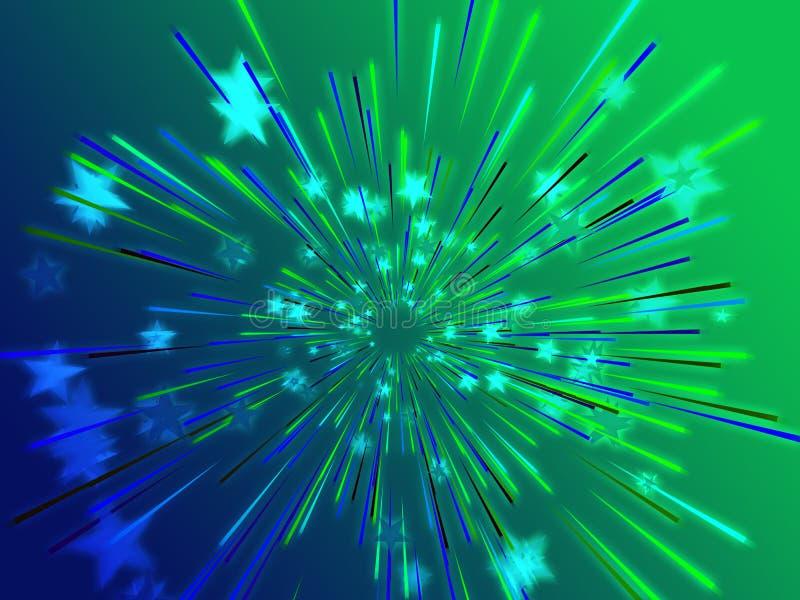 target651_0_ latające ilustracyjne gwiazdy ilustracja wektor