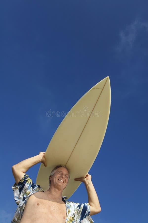 target738_1_ surfboard kierowniczego męskiego surfingowa obraz stock
