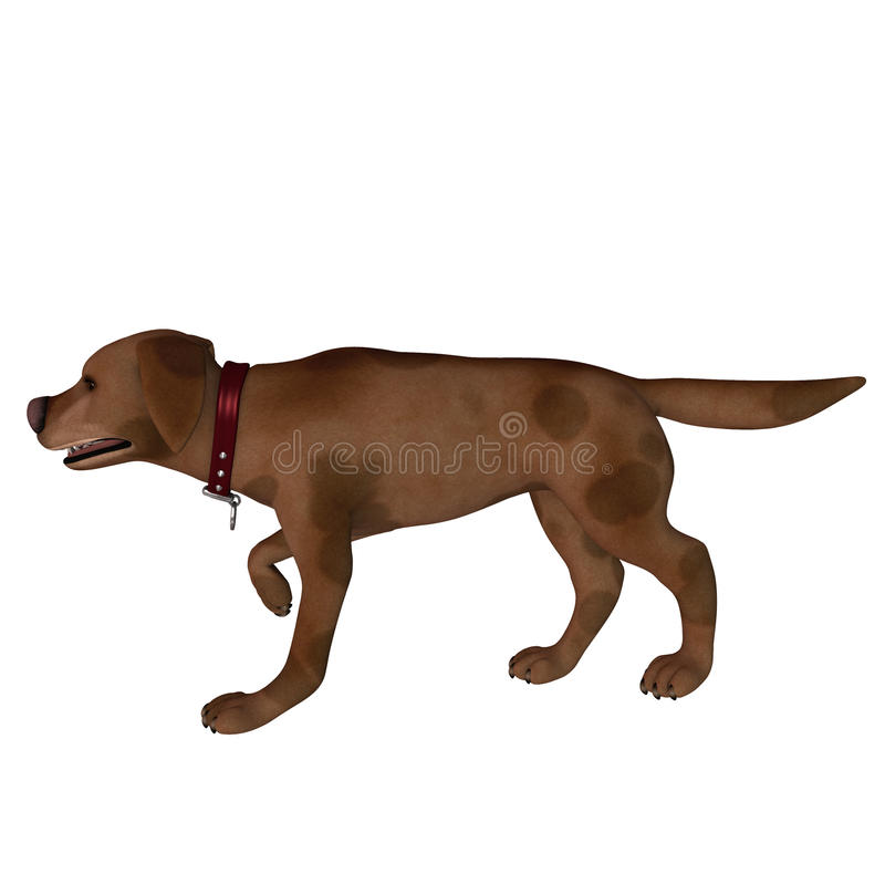 target794_0_ pozę kreskówka pies royalty ilustracja