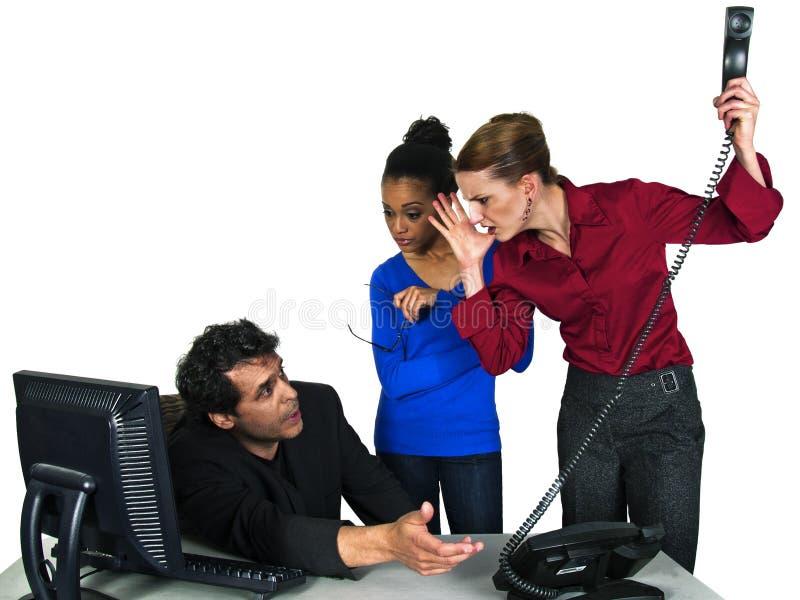target890_0_ co pracowników żeńskiego męskiego pracownika obraz stock