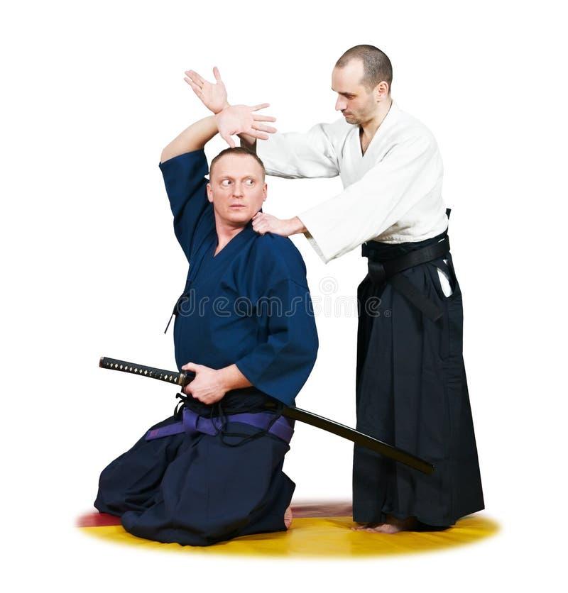 target890_1_ dwa wojownika jujitsu zdjęcia royalty free