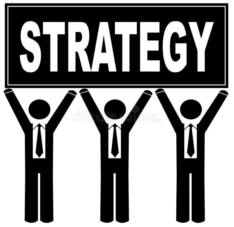 target909_1_ strategii szyldowej drużyny royalty ilustracja