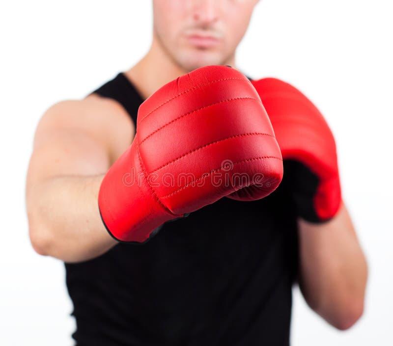 target959_0_ potomstwa rękawiczka bokserski mężczyzna obraz stock