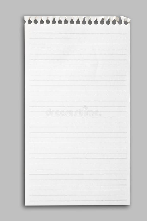 target960_1_ zawierać notatnika papierowej ścieżki prześcieradło obrazy royalty free