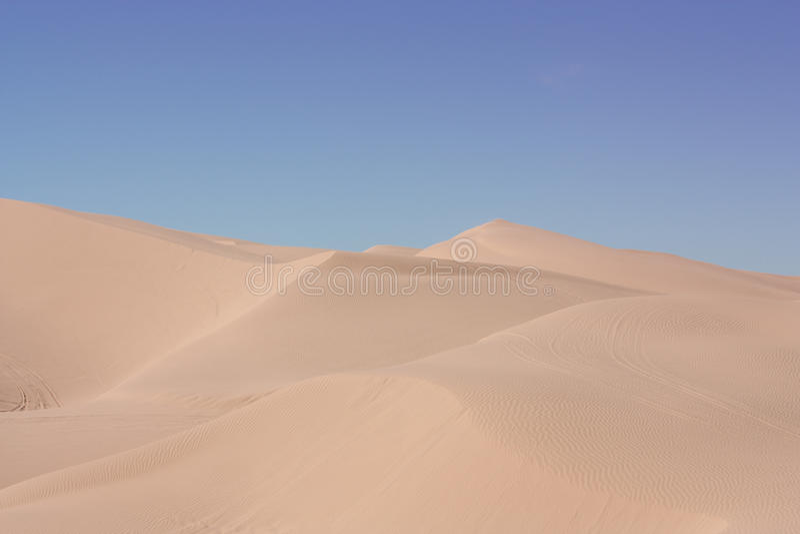 target974_1_ piasek pustynne diuny obrazy stock
