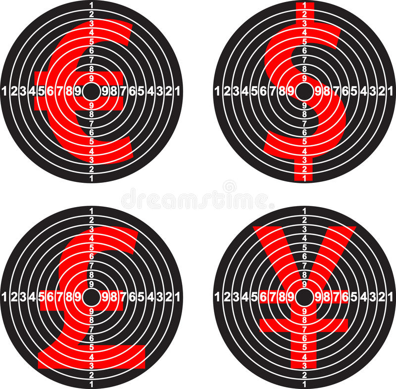 Targets Stock Images
