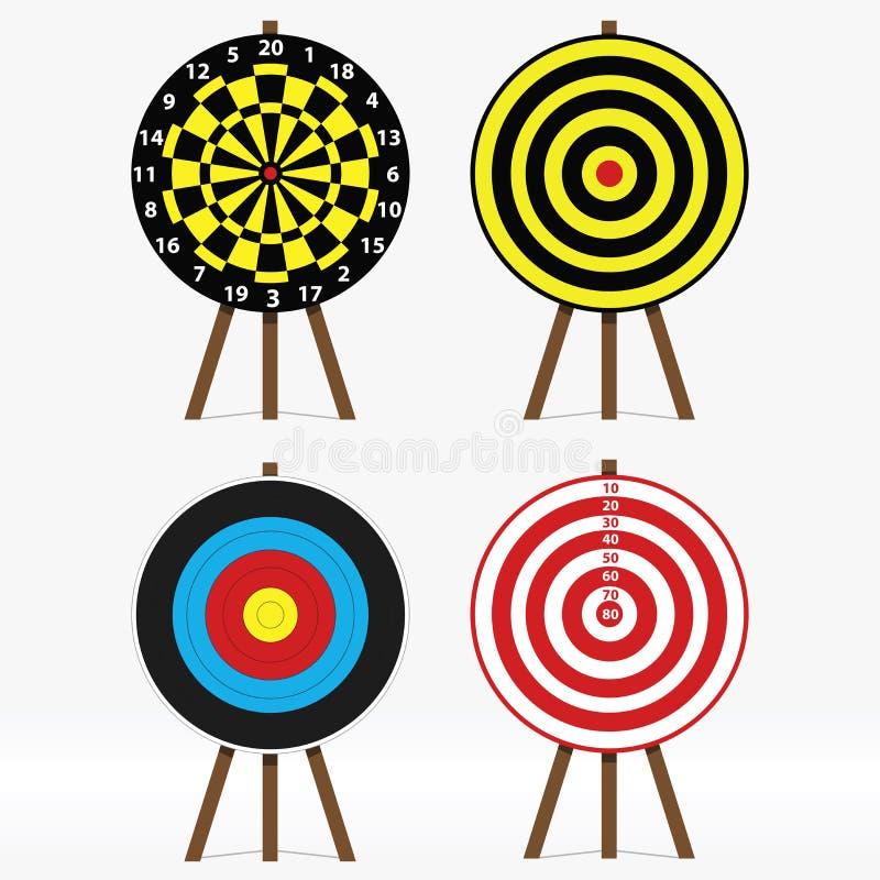 Targets royalty free illustration