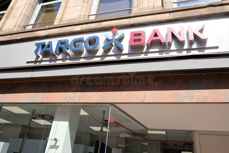 Targo bankfilial arkivfoto