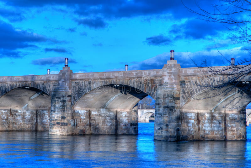 targowa Harrisburg bridżowa ulica Pennsylvania obrazy royalty free
