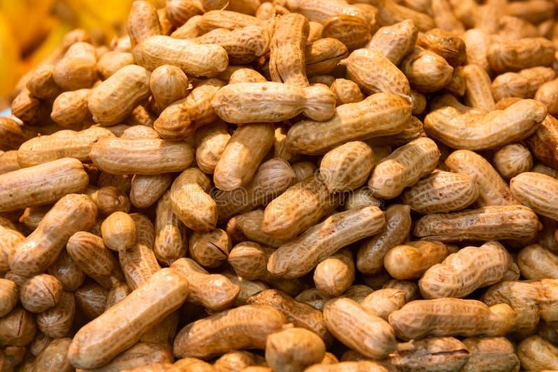 Targowi świezi arachidy zdjęcia royalty free