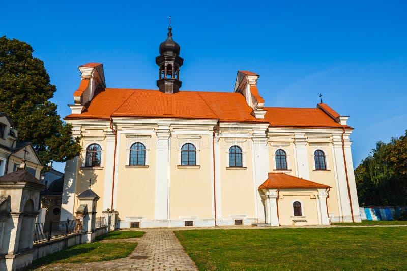 Targowy kwadrat w Zamojskim, Polska zdjęcia royalty free