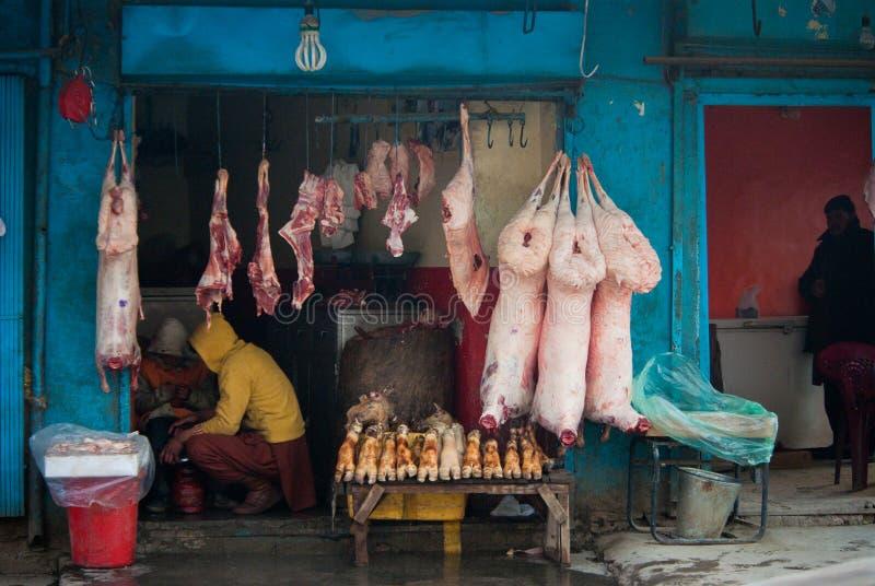 targowy mięso zdjęcia stock