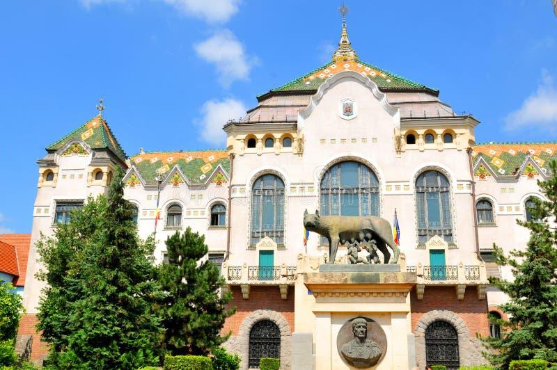 Targu Mures, Roemenië stock afbeelding