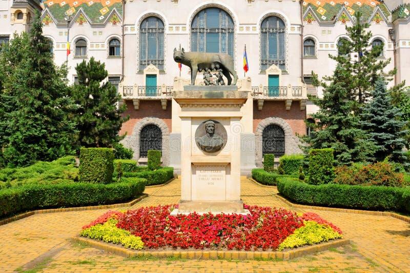 Targu Mures, Rumänien royaltyfri fotografi