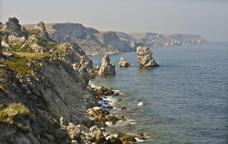 Tarhankut, Crimeia fotografia de stock royalty free