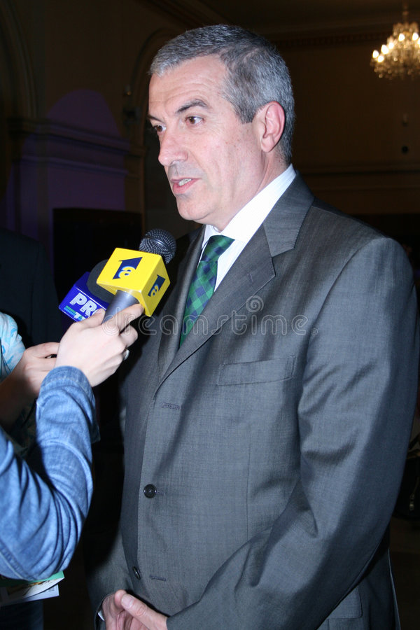 tariceanu popescu calin στοκ φωτογραφίες