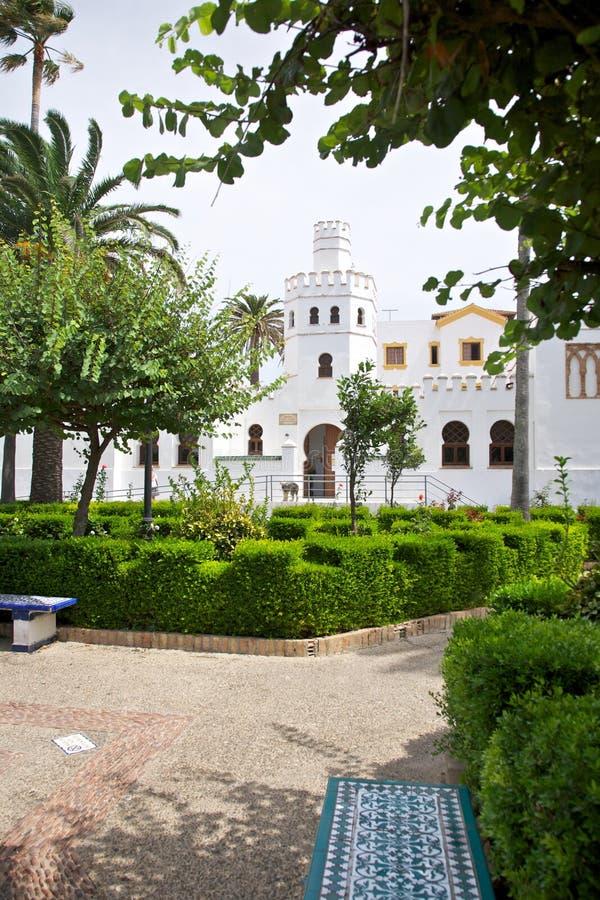 Tarifa dorp royalty-vrije stock fotografie