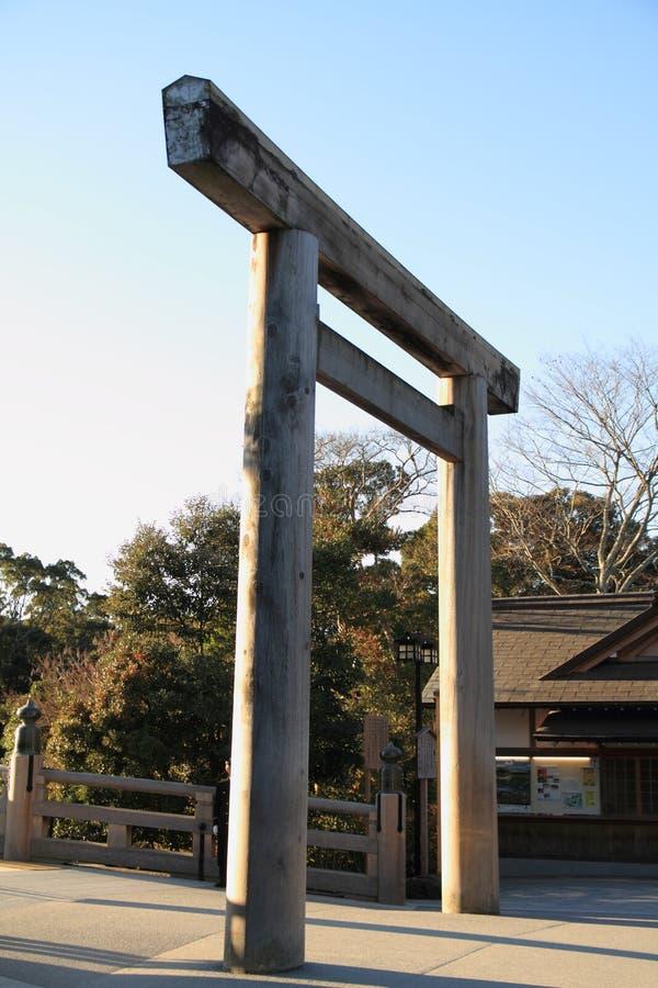 Tarii av den Ise relikskrin royaltyfria bilder