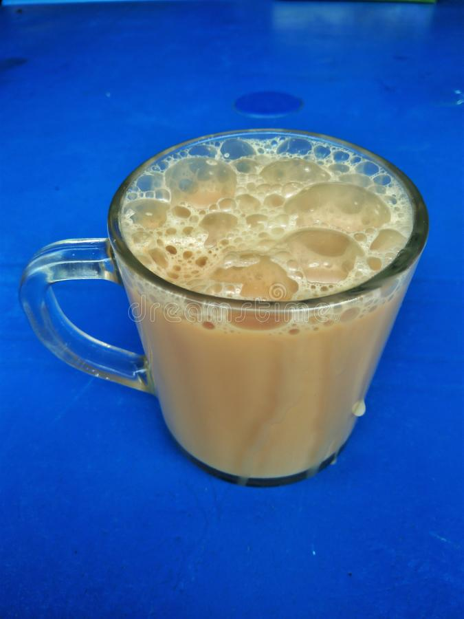 Tarik или вытягиванный чай стоковые фотографии rf