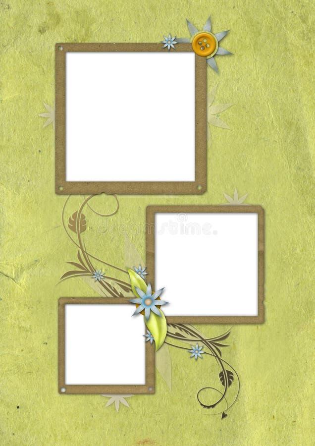 Tarjeta 02 de la vendimia libre illustration