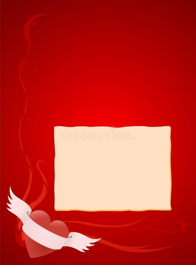 Tarjeta con el lugar para la inscripción imágenes de archivo libres de regalías