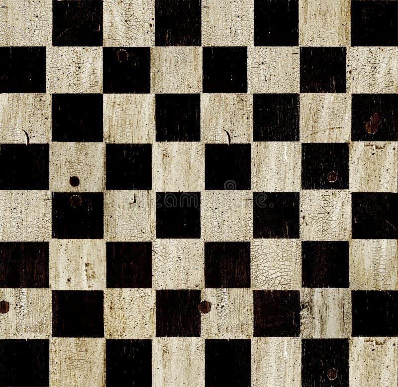 Tarjeta de ajedrez de la vendimia foto de archivo libre de regalías