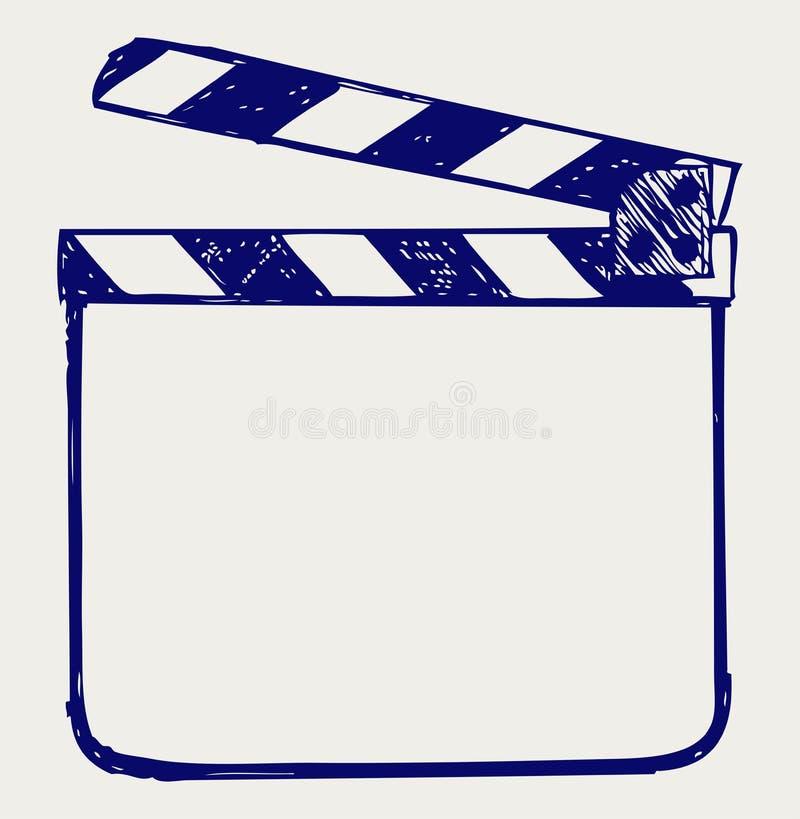 Tarjeta de chapaleta stock de ilustración