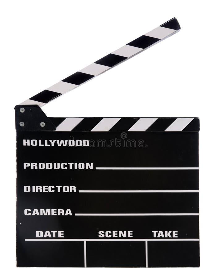 Tarjeta de chapaleta de la película fotos de archivo libres de regalías