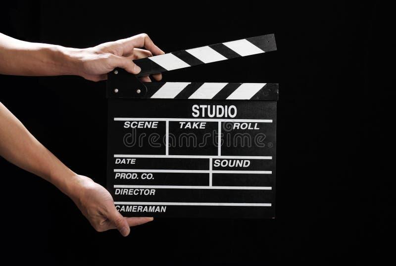 Tarjeta de chapaleta de la película imagen de archivo libre de regalías