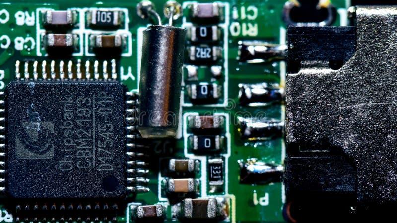 Tarjeta de circuitos genérica imagenes de archivo