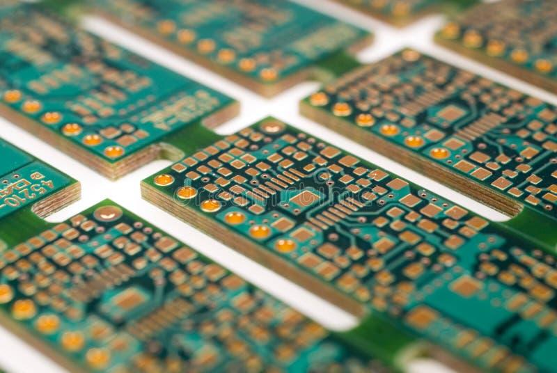 Tarjeta de circuitos impresos imagenes de archivo