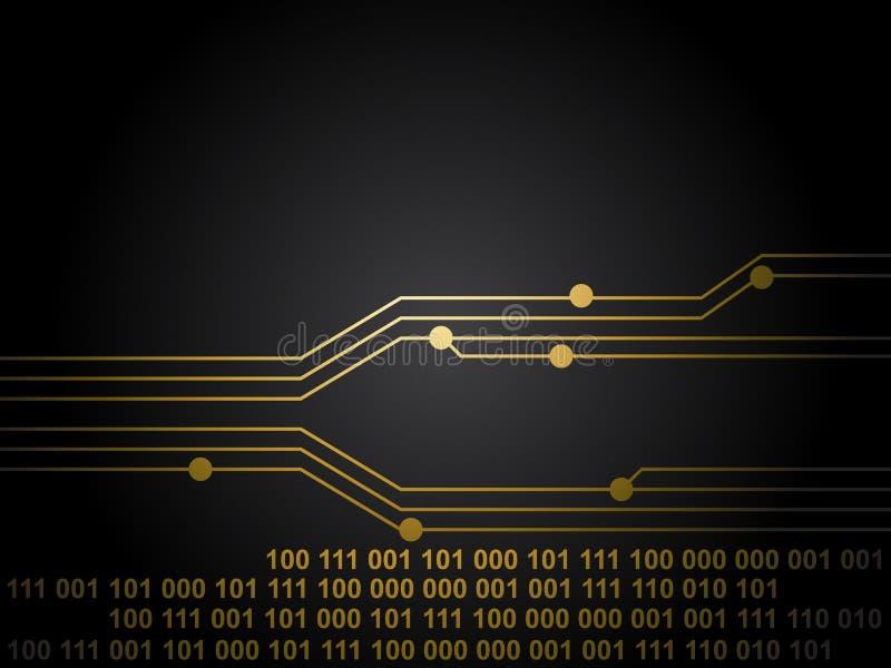 Tarjeta de circuitos negra