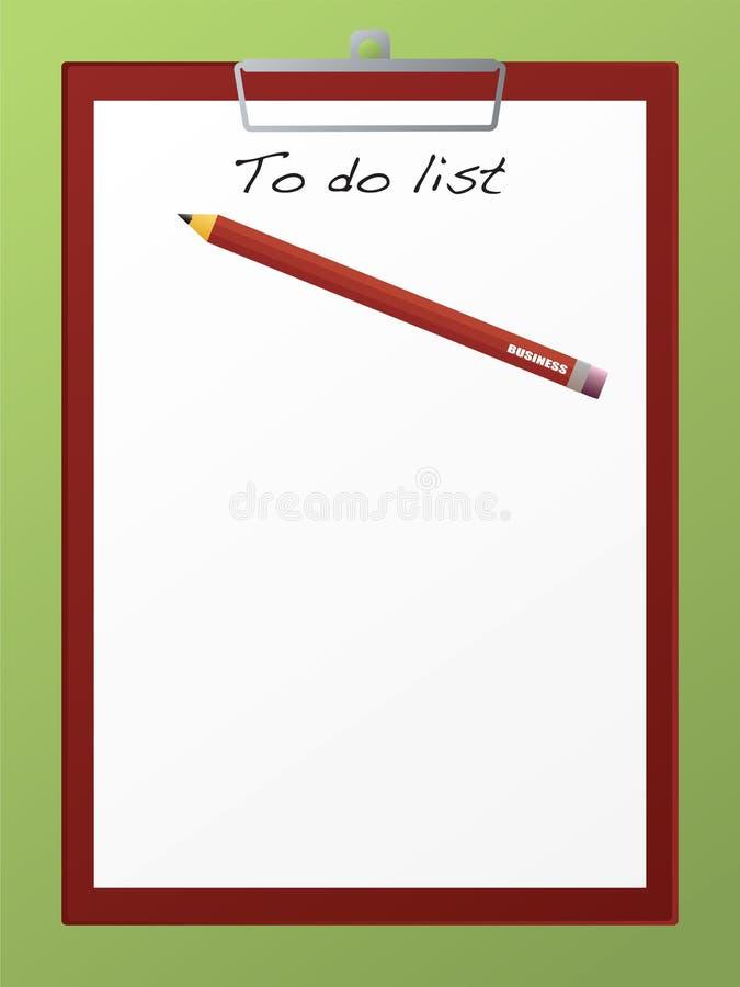 Tarjeta de clip a hacer libre illustration