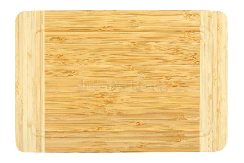 Tarjeta de corte de bambú foto de archivo libre de regalías