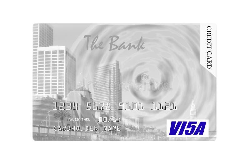 Tarjeta de crédito. imagen de archivo