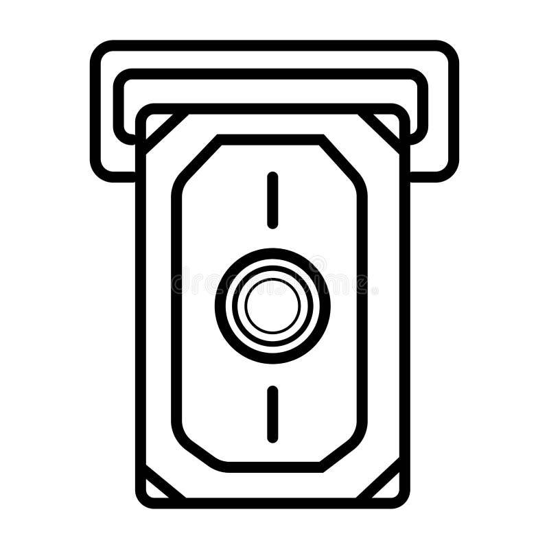Tarjeta de crédito del icono del vector ilustración del vector