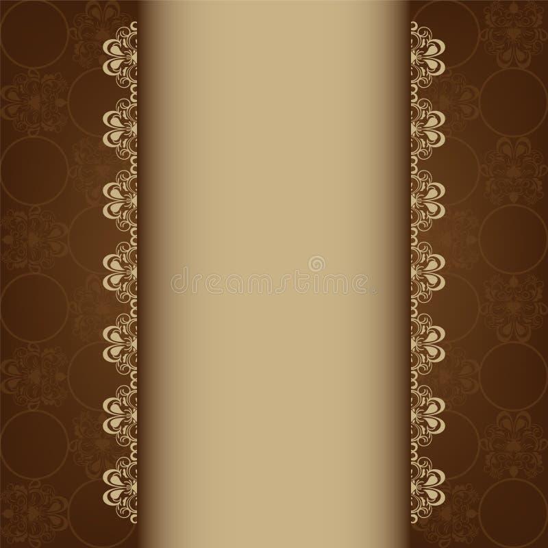 Tarjeta de felicitación ilustración del vector
